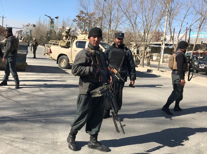 Dozens Dead In Suicide Attack On Afghan News Agency, Cultural Center In Kabul | HuffPost