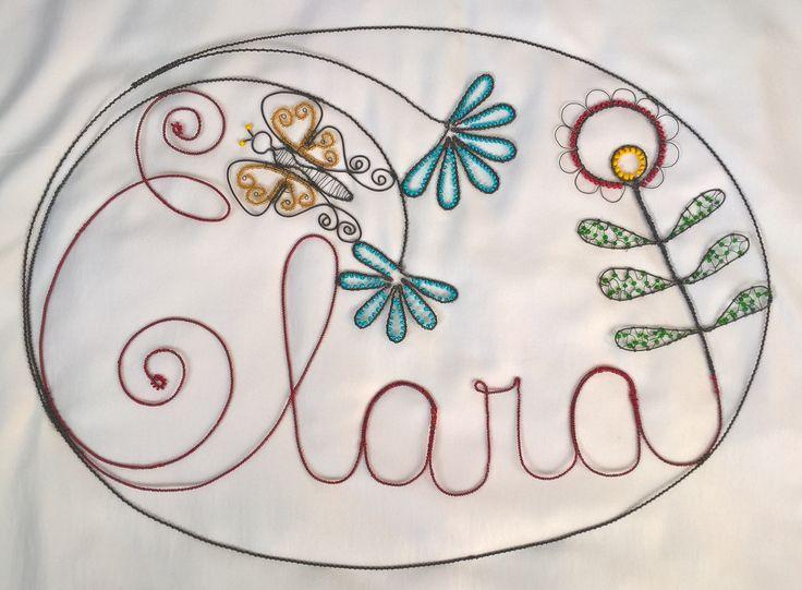 Wire Clara dratování Clara