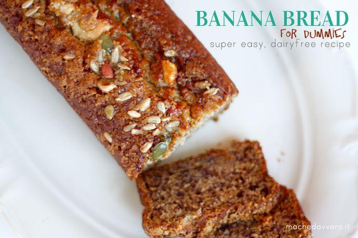 Banana bread ricetta facile vegana e morbida