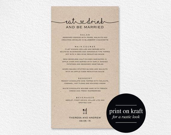 Doc585613 Dinner Party Menu Templates Free Download 17 Dinner – Dinner Party Menu Templates Free Download