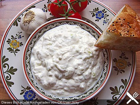 Tzaziki, wie ich es aus Kreta mitgebracht habe (Rezept mit Bild) | Chefkoch.de