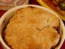 Biscuit Crusted Beef Stew