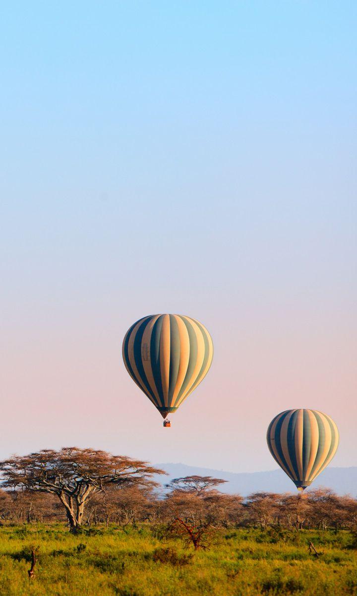 Serengeti hot air ballooning