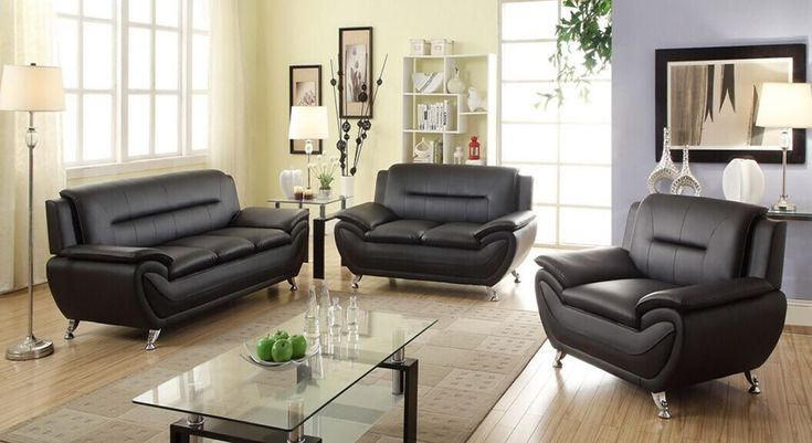 Best 25+ Leather living room set ideas on Pinterest | Leather ...