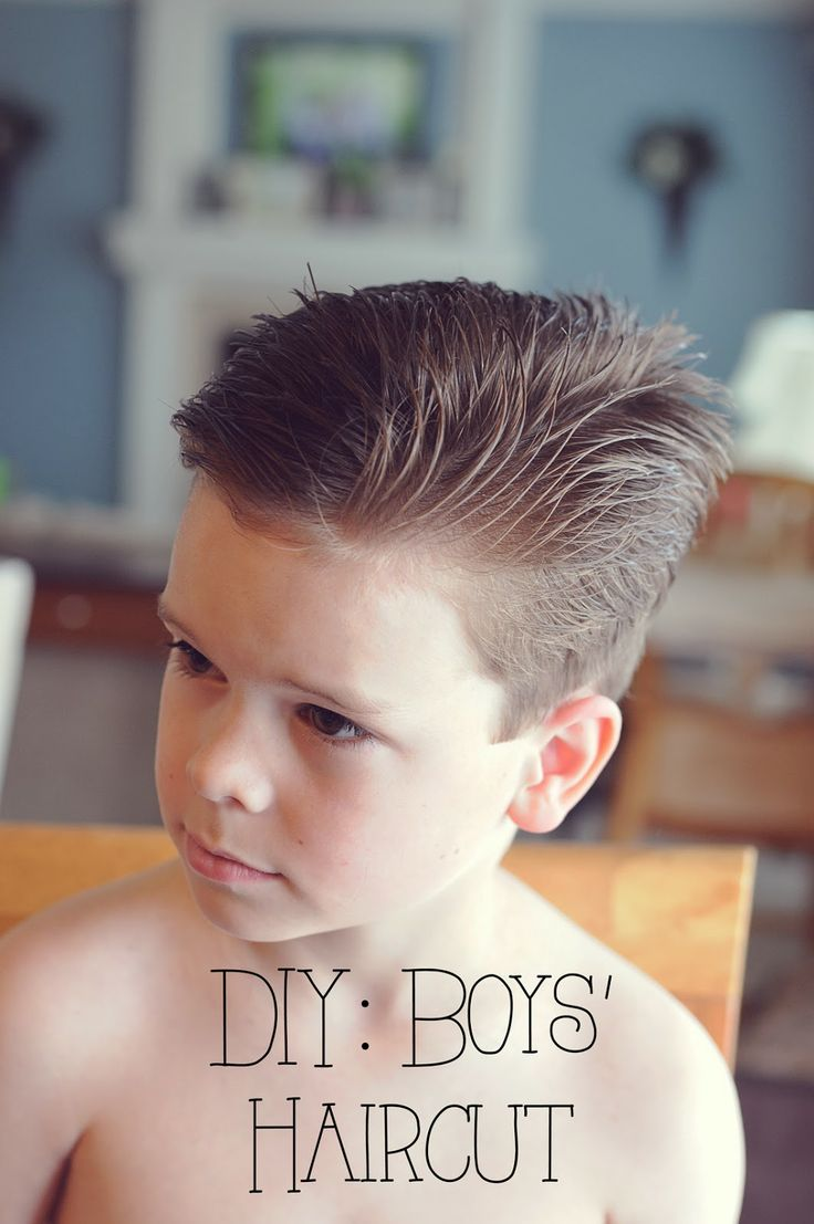 My 4 Misters & Their Sister: DIY: Boys' Haircut | For the ...
