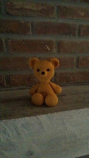 Mijn eerste gehaakte teddybeer