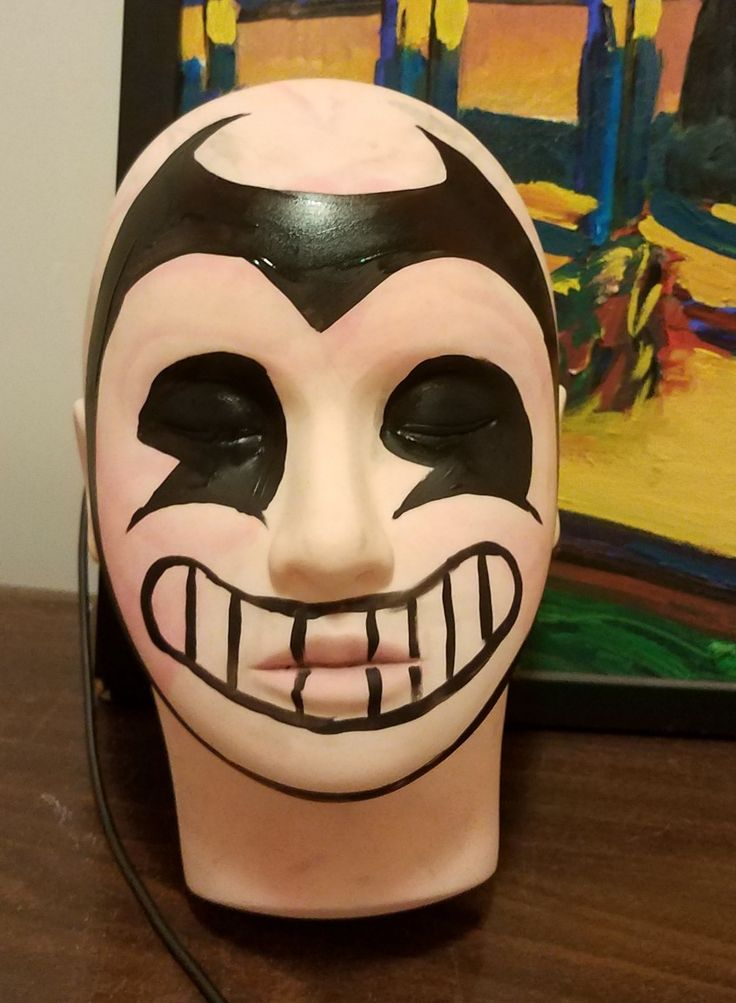 Bendy And The Ink Machine Face Painting In 2019 Face