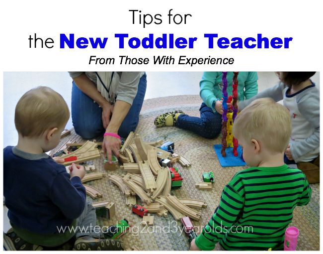 Are you a new toddler teacher? Do you know someone who is? Are you looking for new ideas? Here are tips shared by those who have had experience with this age group from Teaching 2 and 3 Year Olds.