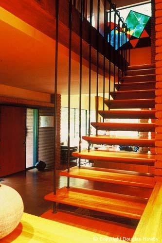 Stairway: Dallas Texas, Open Stairs, Midcenturi Stairs, House Idea, Stairs Idea, Century Modern, Modern Homes, Mid Century Stairs, Mid Century Homes