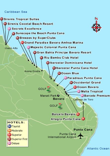dominican republic resorts | resorts . Here you will find their location. Some of the resorts ...