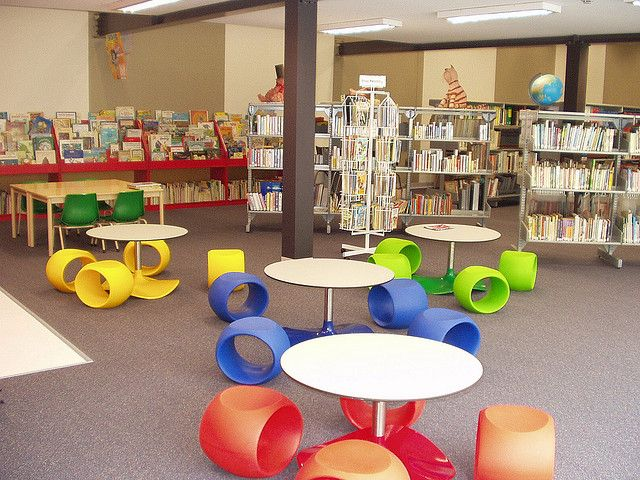 83 best images about Interior Library For Kids Teens on