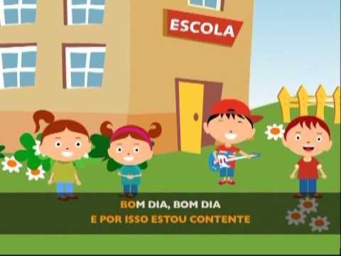 Bom dia, vou p'ra escola (@Jardim de Infância 6)