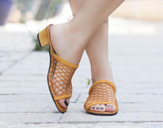 2c1a6bd9c9ce9 Women Net Sandals, Women Summer Shoes, Net Clogs, Mules, Flip-Flops ...