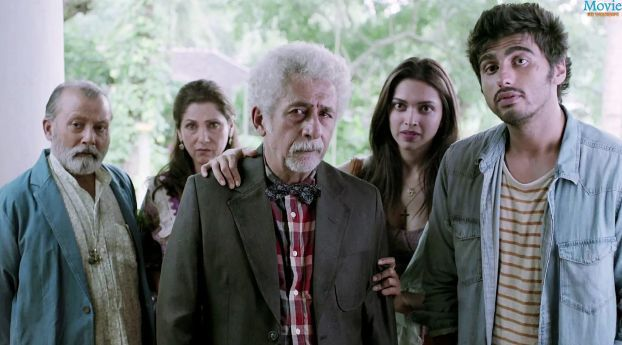 Finding Fanny Cast Photoshoot