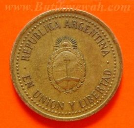 10 Centavos Argentina 1992