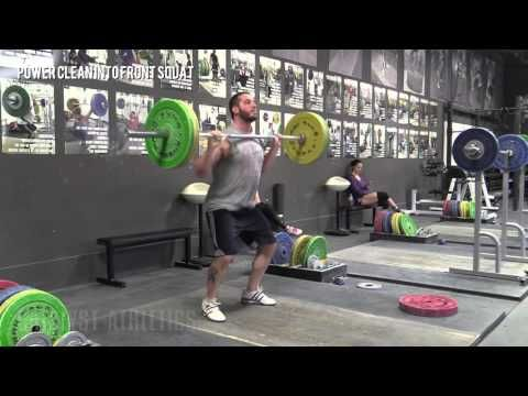 Power Clean Into Front Squat - Exercise Library: Demo Videos, Information & Terminology - Catalyst Athletics Olympic Weightlifting