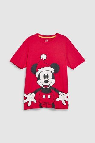 0e3fa9b3e Get into the Christmas spirit like Mickey Mouse™ on this super cute and  festive red