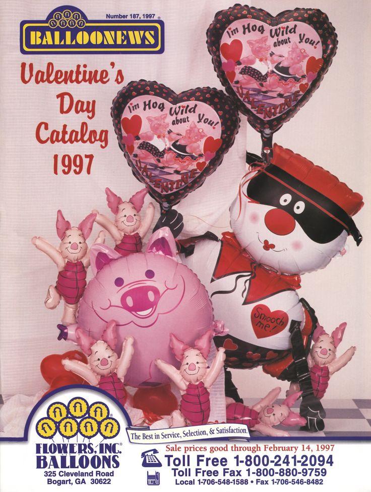 BALLOONEWS: Valentine's Day 1997 #burtonandburton #tbt