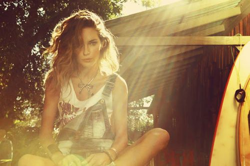 .Lights, Summer Day, Erin Wasson, Dungares, Ads Campaigns, Denim, Emily Didonato, Editorial Photography, Sun Flare