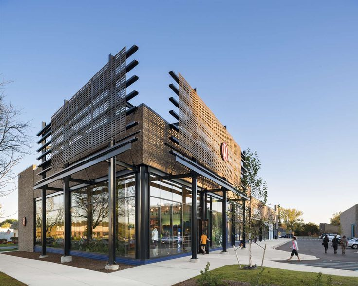 In Ann Arbor, Michigan, a new 94,000 s.f. retail center embraces progressive architecture and a complimentary mix of shops, restaurants and offices to draw v...