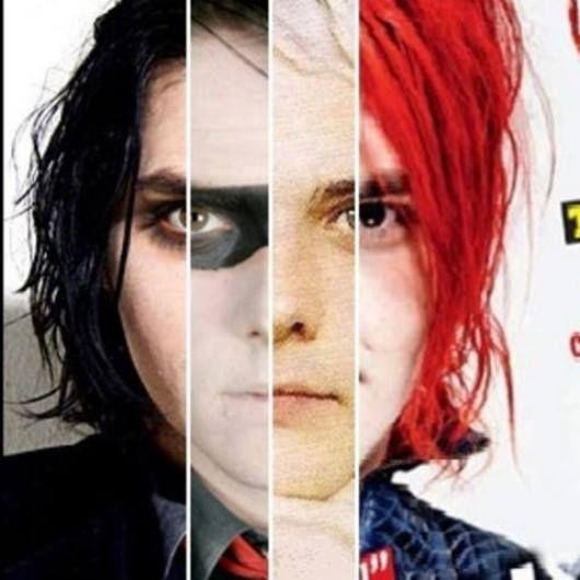 Gerard in diferents eras... That red hair. Damn. Just damn ...