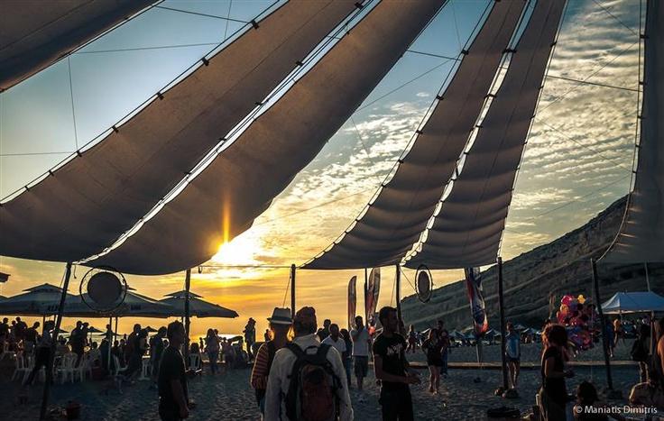 Visit Greece| Matala beach, Crete
