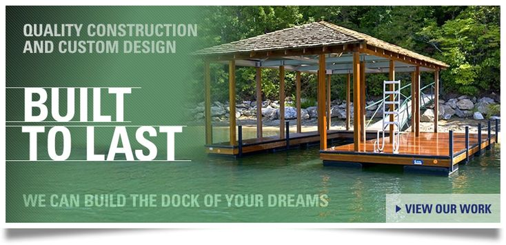 Custom Dock Systems Is A Leading Designer And Fabricator Of Boat Docks, Boat  Lifts, And Dock Accessories Located Near Lake Hartwell In Anderson, ...