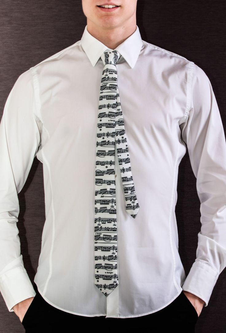 Music tie! necktie for musicians!