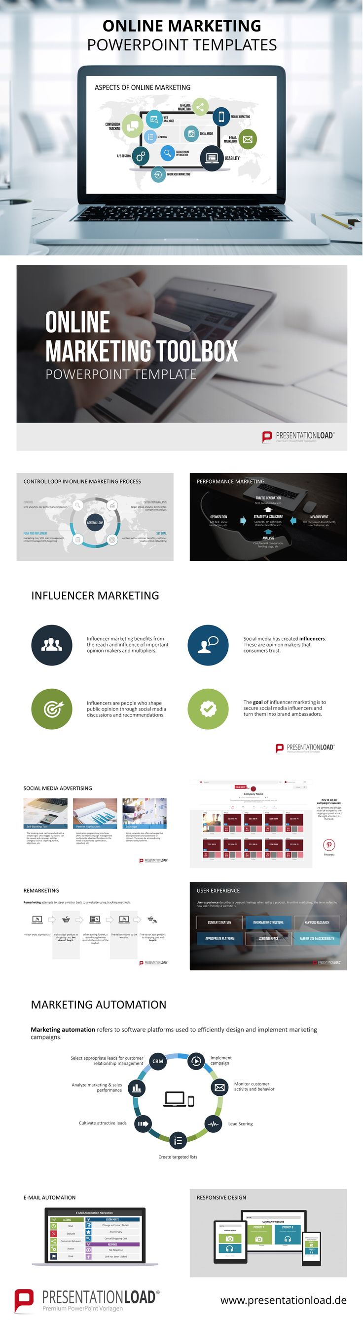 121 best marketing powerpoint templates images on pinterest present your online marketing strategies and campaigns with our professional designed powerpoint templates toneelgroepblik Choice Image