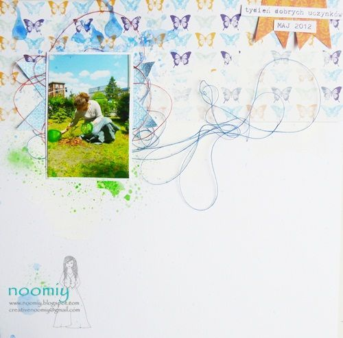 Made by Noomiy.  Papers from Be Optimistic collection.