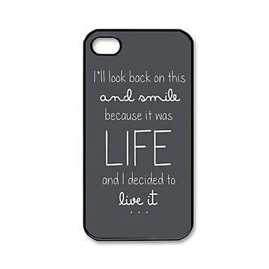 Ed Sheeran Pattern Plastic Hard Case for iPhone 4/4S – USD $ 3.99
