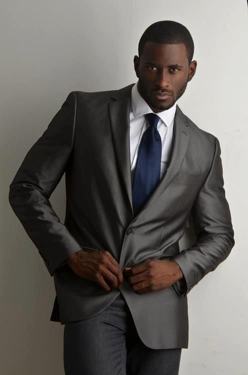 100 best Men in Suits soooo Sexy! images on Pinterest | Black men ...