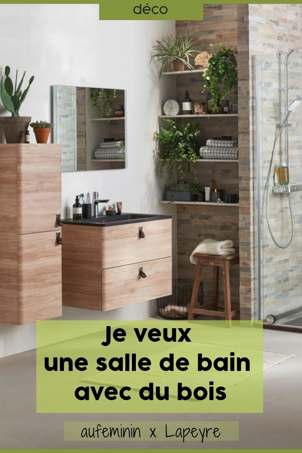 Meuble de salle de bains sous vasque Edda sans plan en 2018 Déco