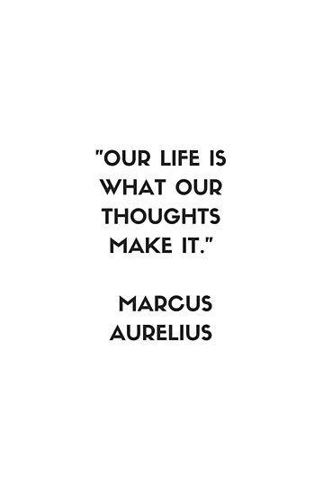 MARCUS AURELIUS Stoic Philosophy Quote | Poster
