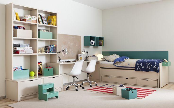 Детская мебель для двоих детей: советы по выбору и 80+ удобных и эстетичных решений для детской комнаты http://happymodern.ru/detskaya-mebel-dlya-dvoix-detej-foto/ Светлая угловая мебель, изготовленная по индивидуальному заказу Смотри больше http://happymodern.ru/detskaya-mebel-dlya-dvoix-detej-foto/