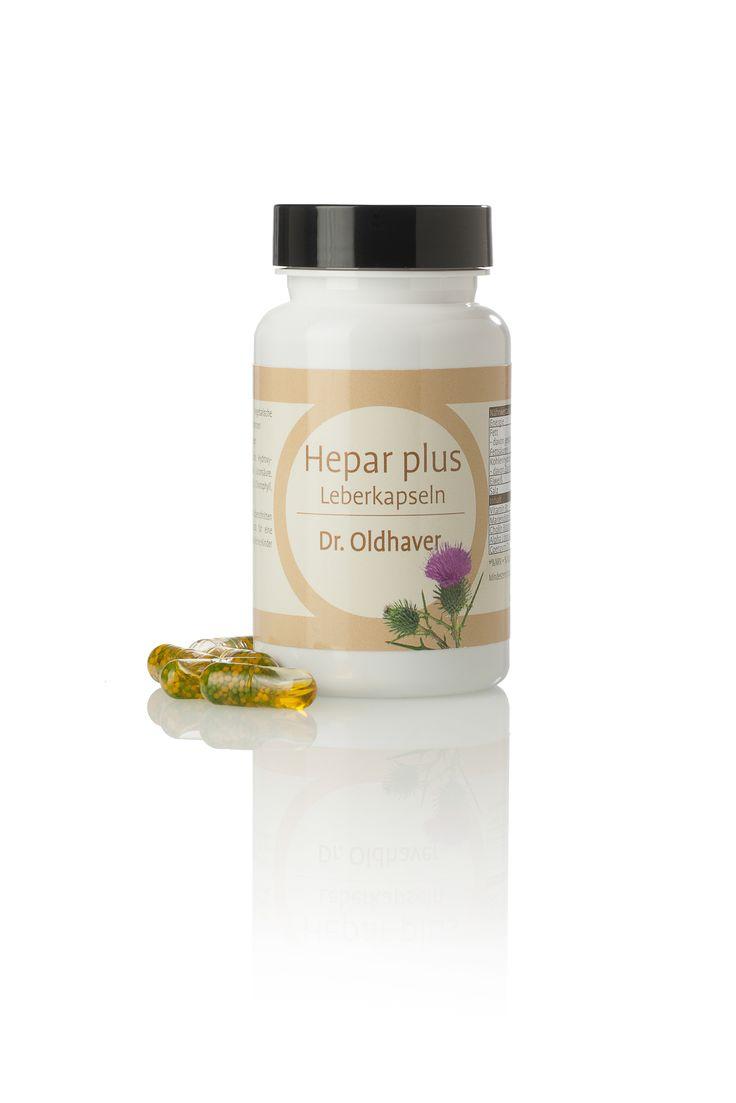 Wer die Leber entgiften will, sollte dies mit hochwertigen Naturstoffen tun, wie den Inhaltsstoffen in Dr. Oldhavers Hepar plus Leberkapseln: Mariendistel, das seit Jahrhunderten zur Leberstärkung verwendet wird und das für die Leberfunktion und den Fettstoffwechsel wichtige Cholin. Auch Alpha-Liponsäure unterstützt die Leberfunktion und stimuliert die Entgiftung. Weiter enthalten sind das Coenzym Q10 und Vitamin B2.