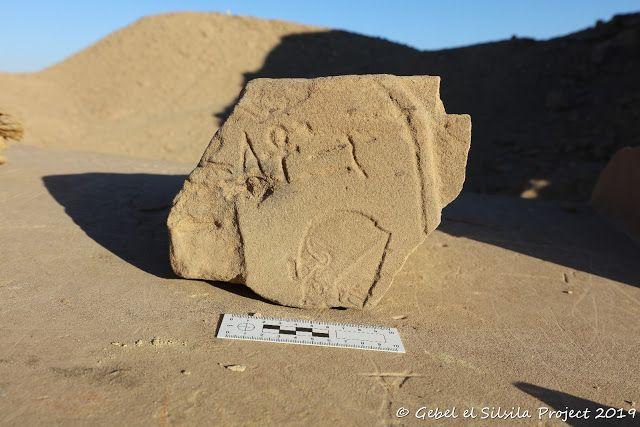 New Kingdom Workshop Discovered In Egypt S Gebel El Silsila Workshop Amenhotep Iii Egypt