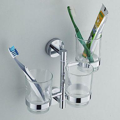 Best Rack Images On Pinterest Bathroom Shelves Shower - Bathroom cup holders wall mount for bathroom decor ideas