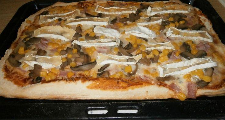 Egyszerű pizzatészta recept