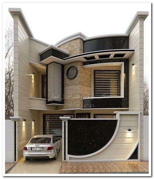 Minimalist Exterior Home Design Ideas: 42 Stunning Modern Dream House Exterior Design Ideas 20 In