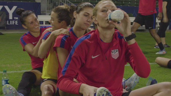"""U.S. Soccer WNT on Twitter: """"Did you really think we would leave our last camp of 2016 without partaking in the #MannequinChallenge? #ARodCameo"""