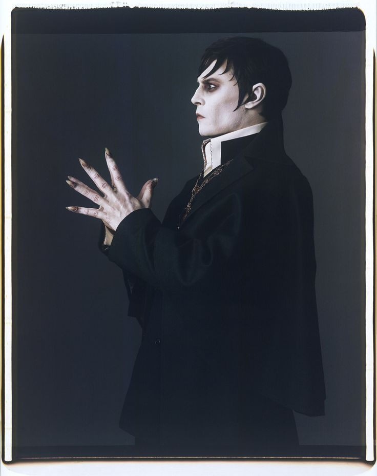 Johnny Depp in Dark Shadows by Mark Ellen Mark