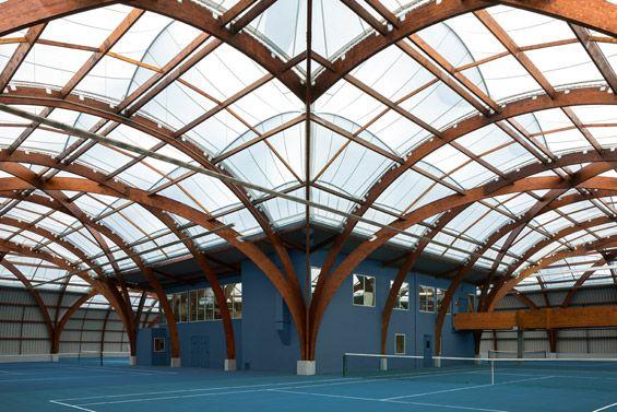 Spoutnik Architectue : Renovation du Tennis Club de Bourg-la-Reine