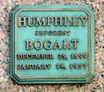Humphrey Bogart's grave