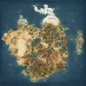 Blank Fantasy Map High Resolution By Quabbe Daobgg Detailed Of Map
