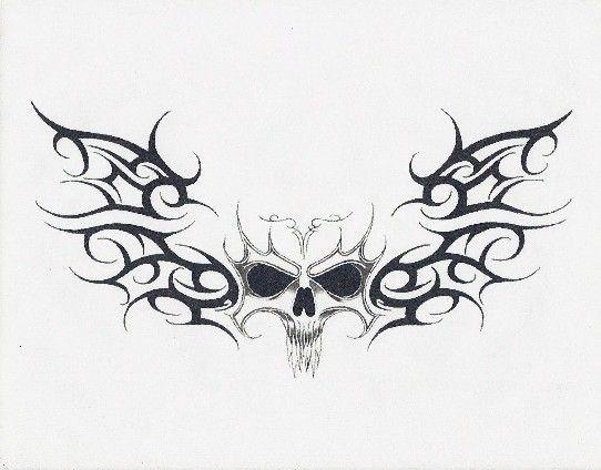 Tribal Death by gothicknight213 on deviantART