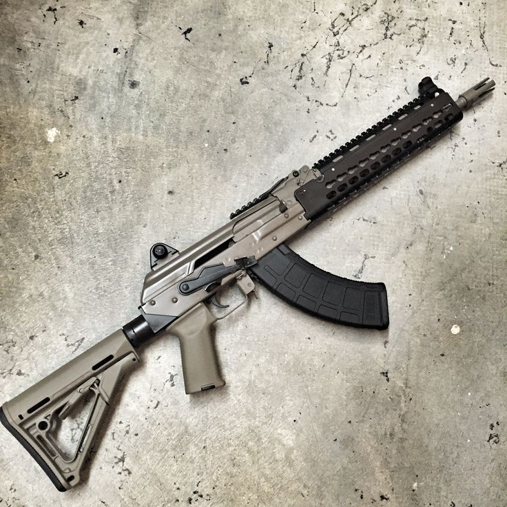 Krebs Custom KV-13 7.62x39 Fixed Stock FDE - Copper Custom Armament