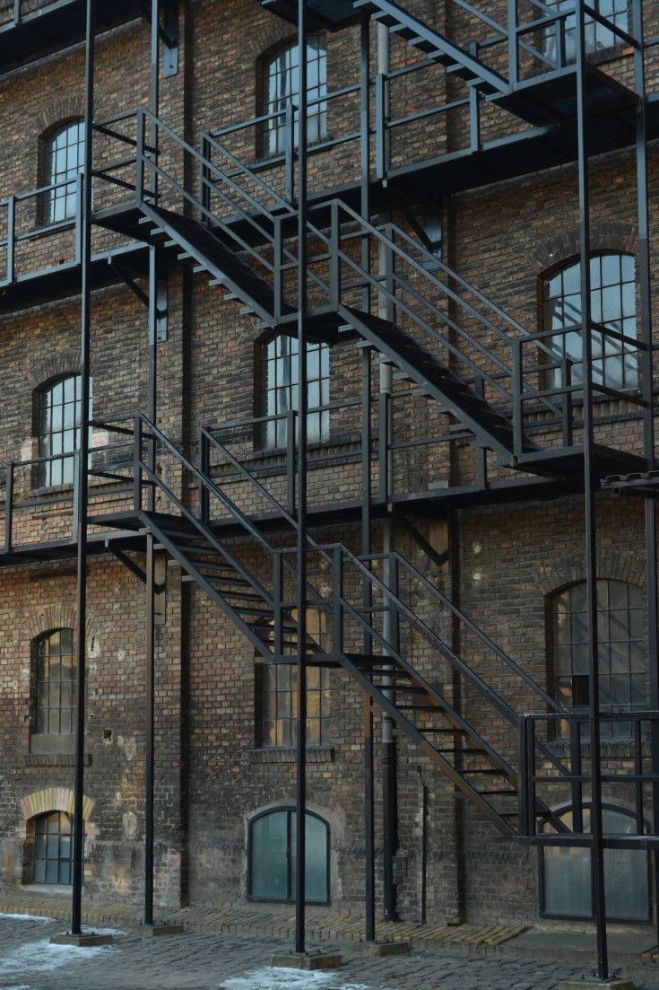 Film and Photo Shoot Locations in Budapest: Fire Escape Ladders