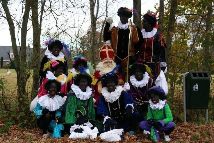 Sinterklaas met zijn knechten, 2010