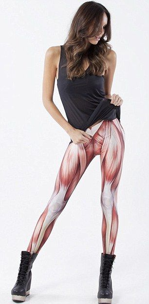 Muscle leggins should certainly make me squat more...now to find them and purchase!